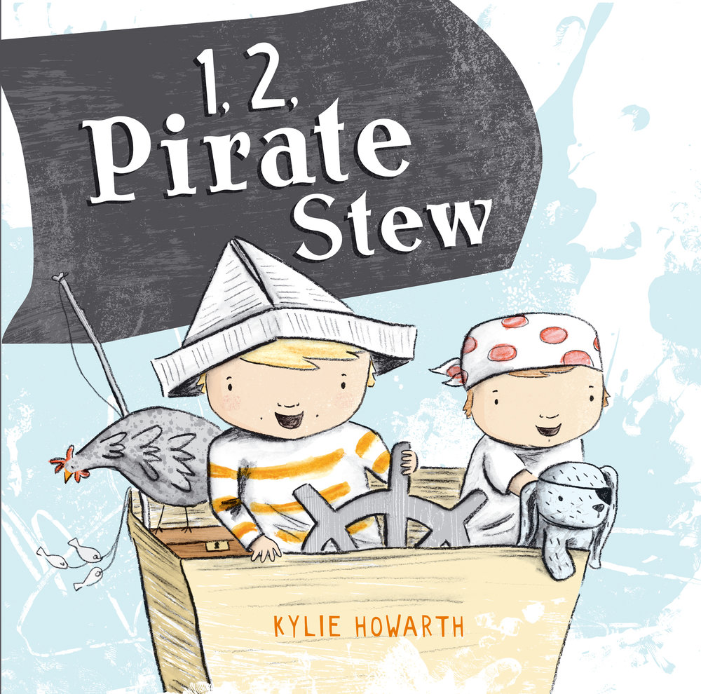 1, 2, Pirate Stew - Picture Book by Kylie Howarth