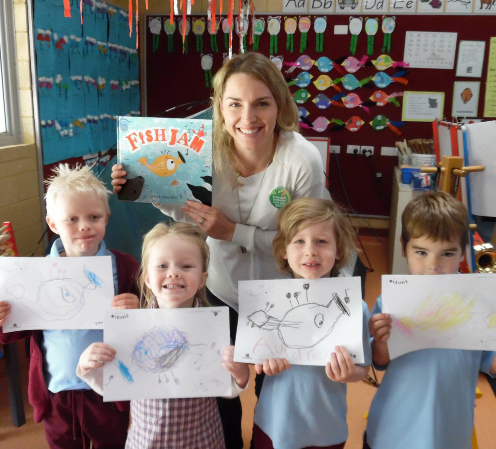Kylie Howarth - Primary school author visit