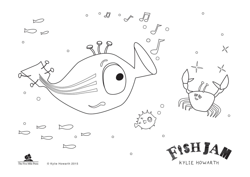 Fish Jam colour in