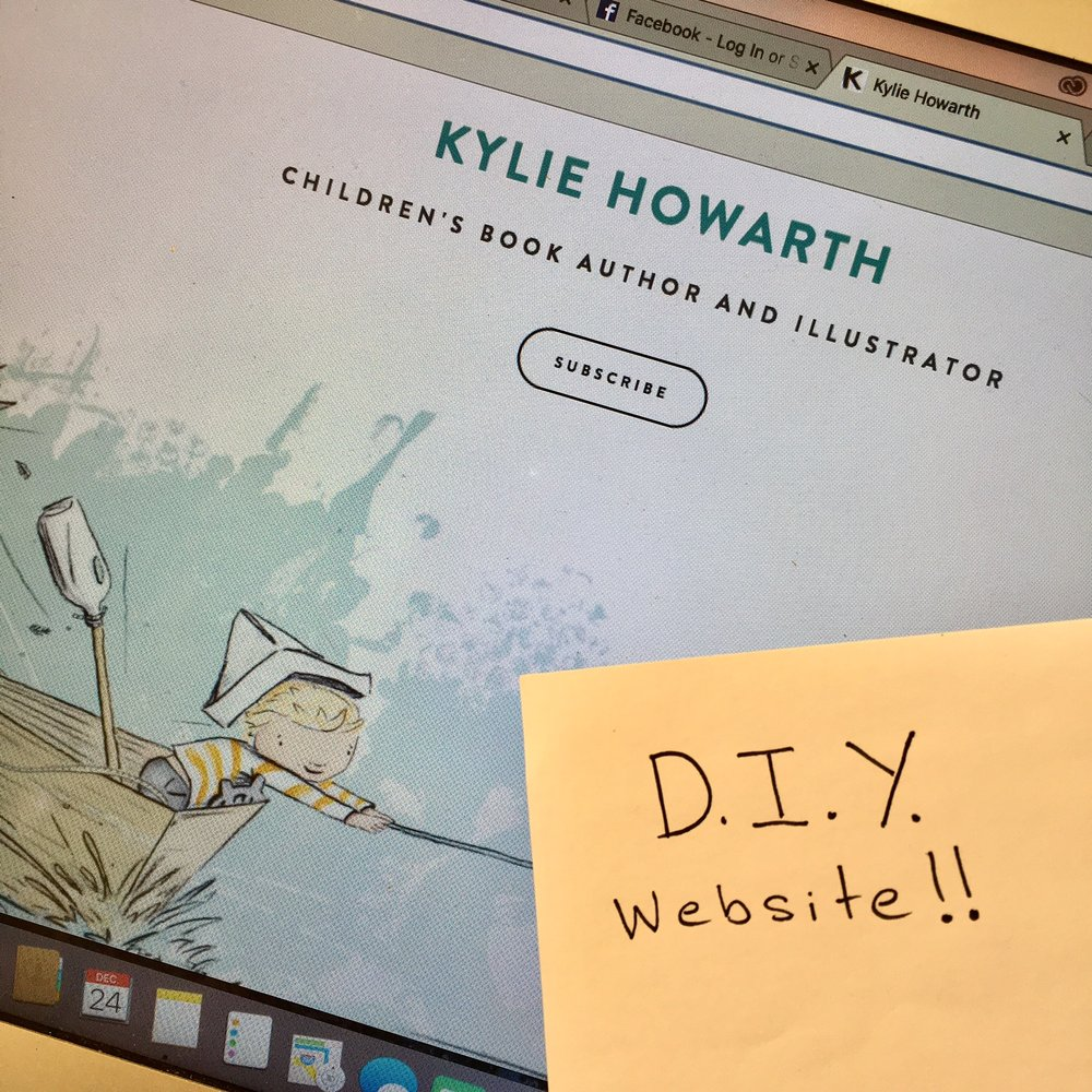 DIY Website by Kylie Howarth