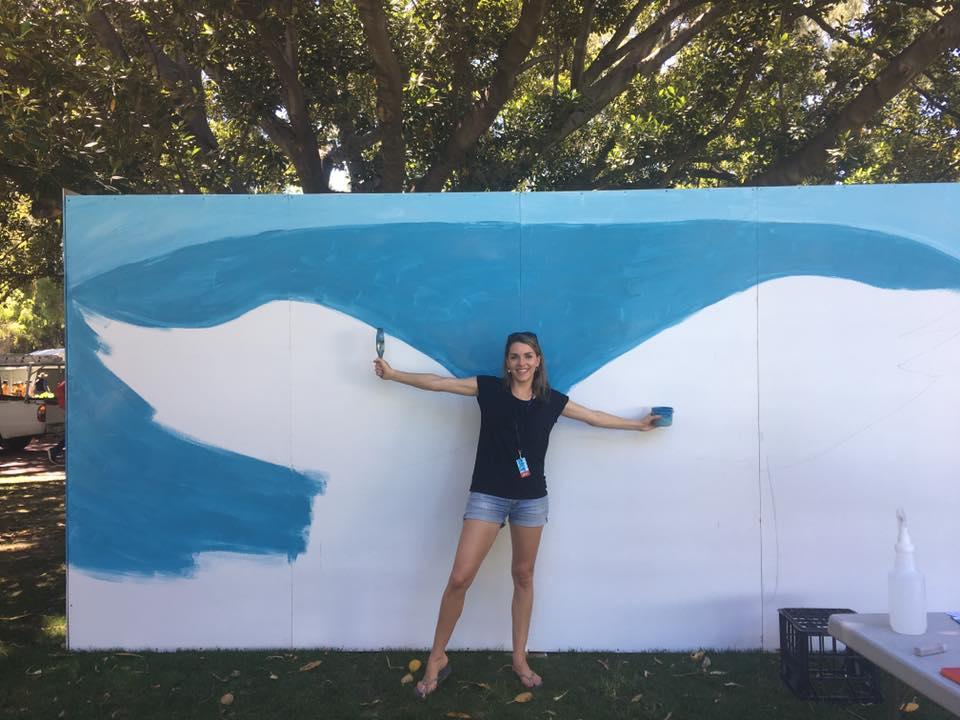 PWF17 Wings Mural