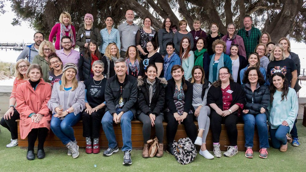 SCBWI Australia West - Rotto Retreat 2017 - My tribe :)