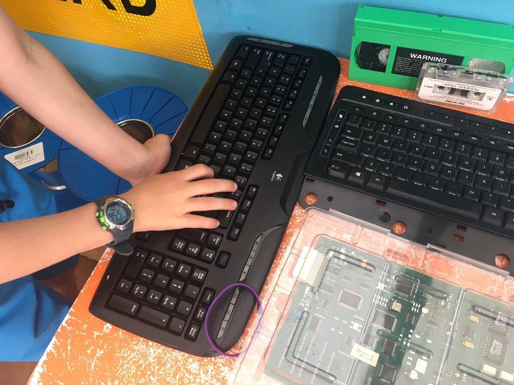 Kids computer workshop