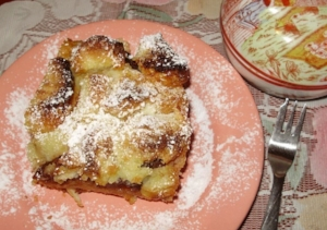 Bread Pudding (Žemlovka)