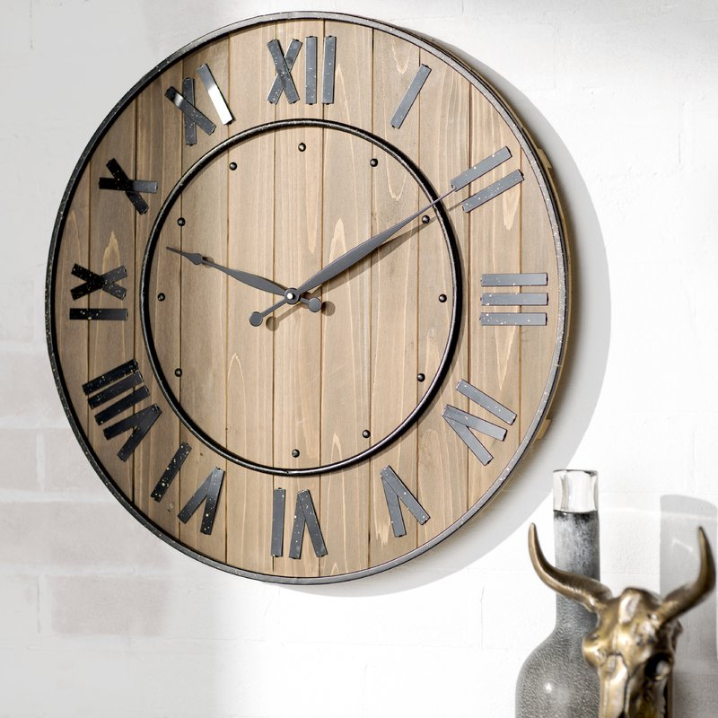 Northrop Wine Barrell Wine Clock