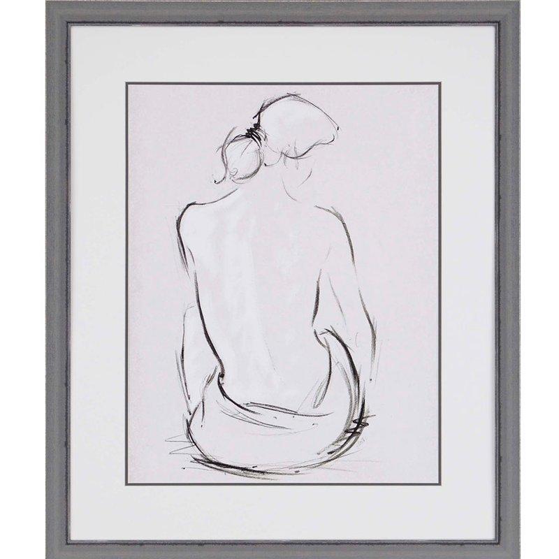 Celestiel I by Hartley Framed Painting Print