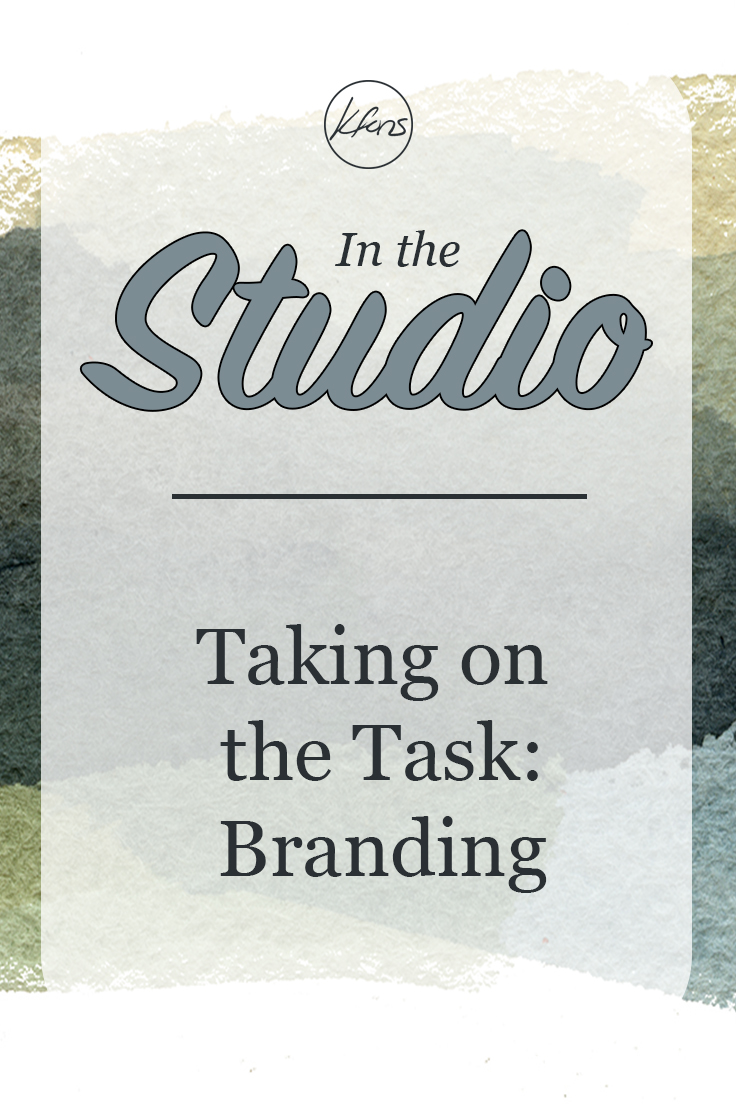 In the Studio - Taking on the Task: Branding