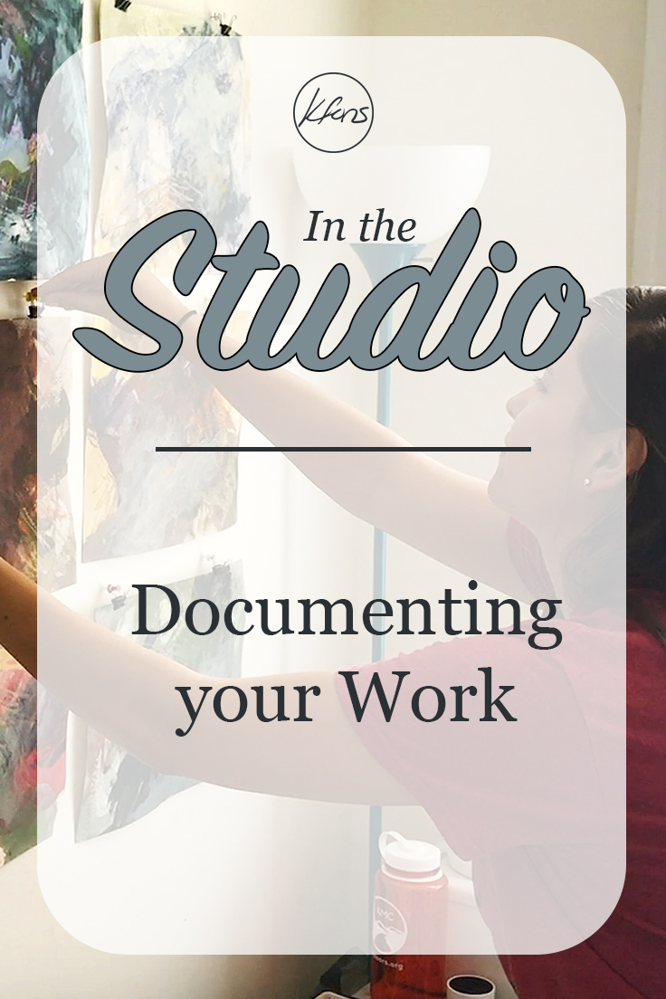 In the Studio: Documenting your Work