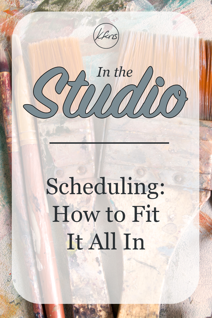 In the Studio - Scheduling: How to Fit It All In