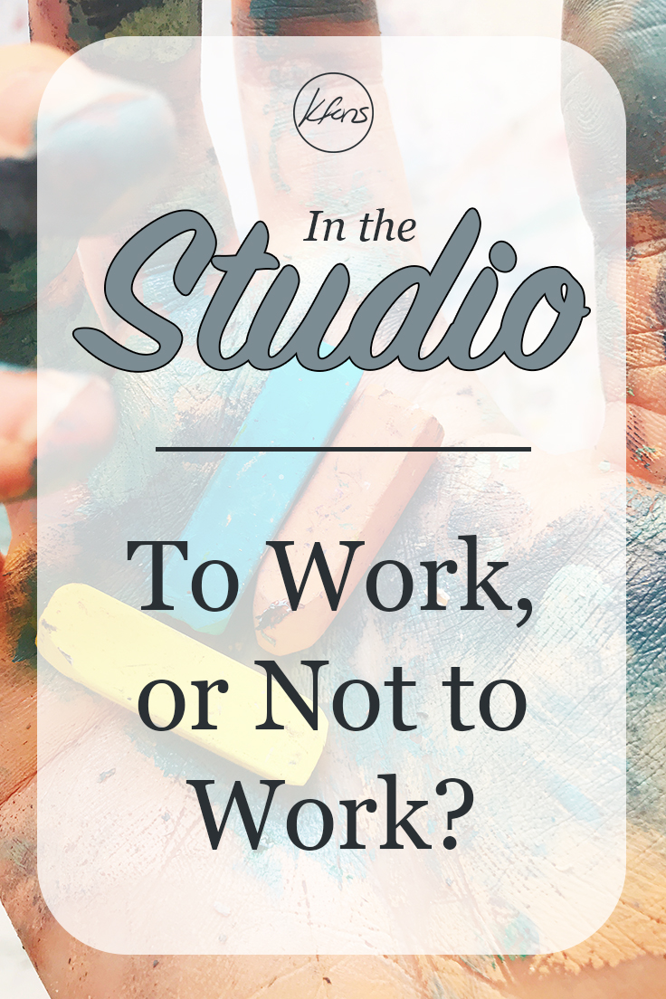In the Studio: To Work, or Not to Work?