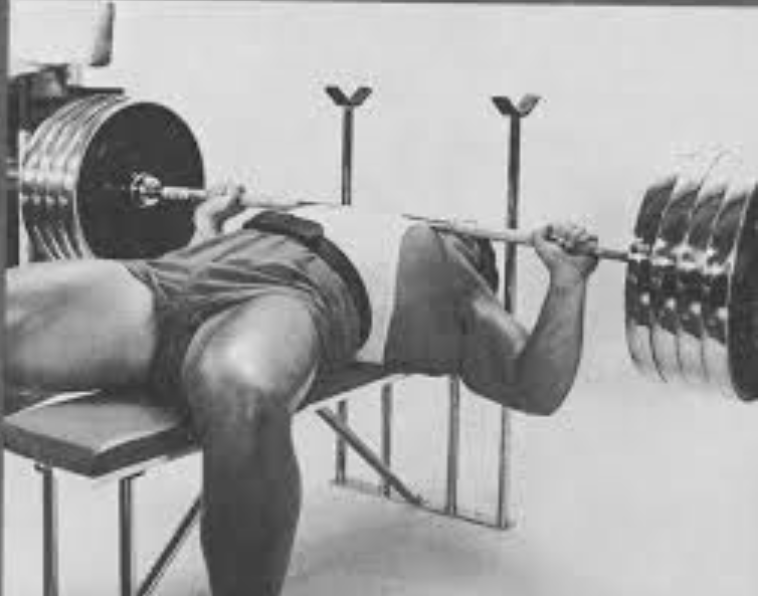 Pat Casey; one of the all time greatest raw bench pressers