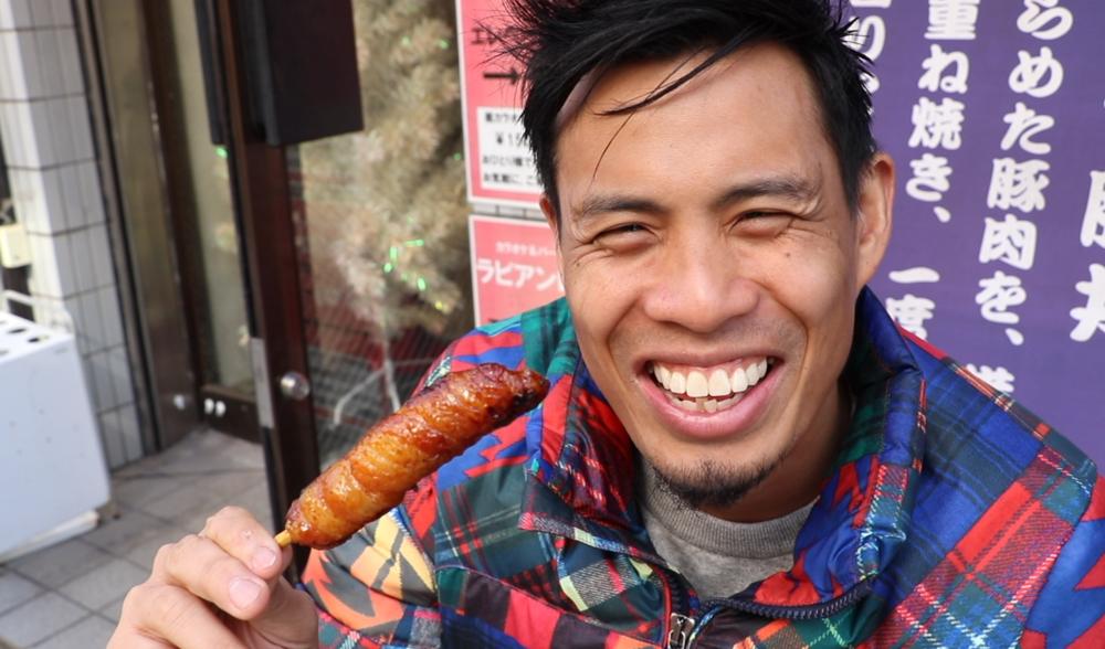 tokyo street food tontan pork