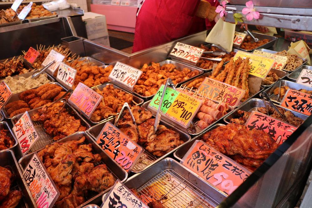 十条銀座商店街 食べ歩き オススメ 鳥大 鶏肉