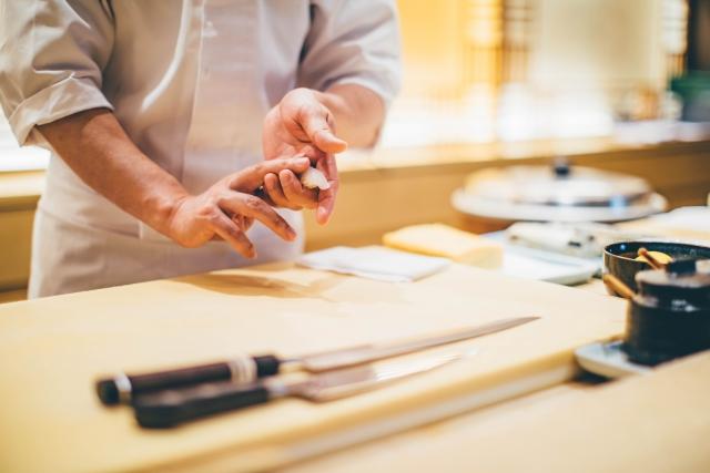sushi manner omakase