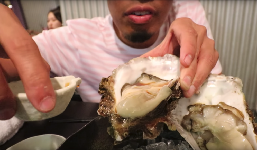 They have various kinds of oysters and we got the biggest kind!