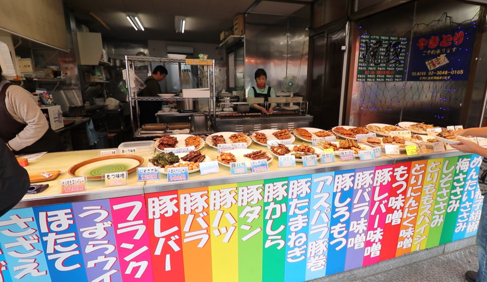 tokyo street food yakitori
