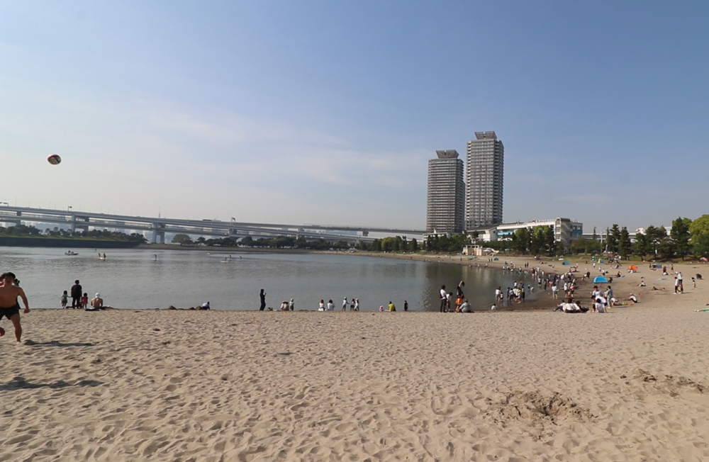 odaiba beach park things to do