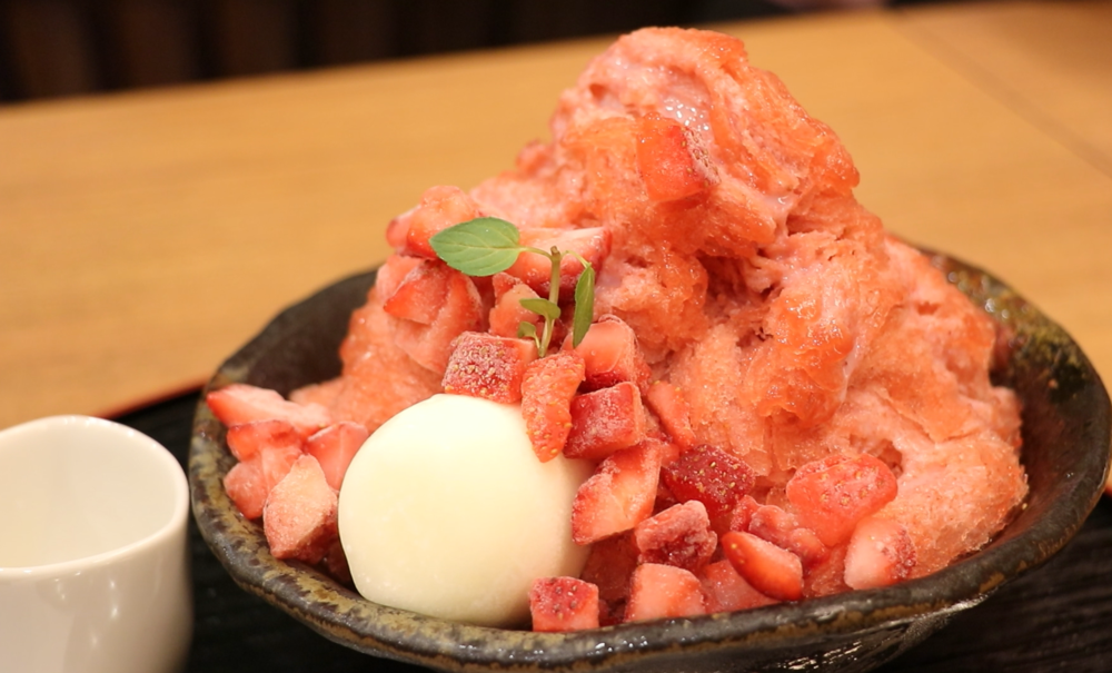 japanese food kakigori