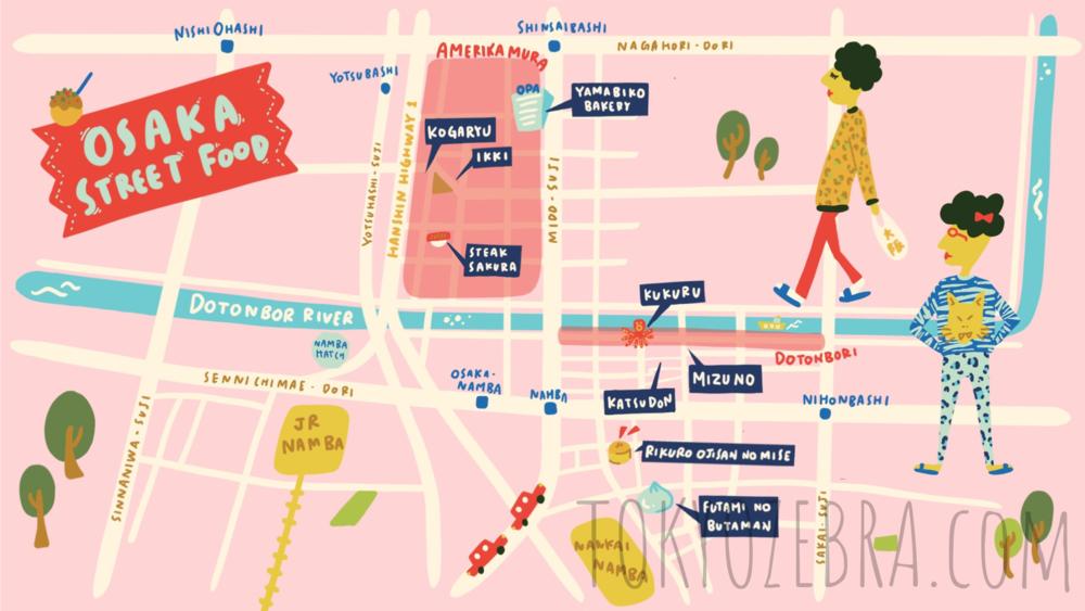 Osaka Map -