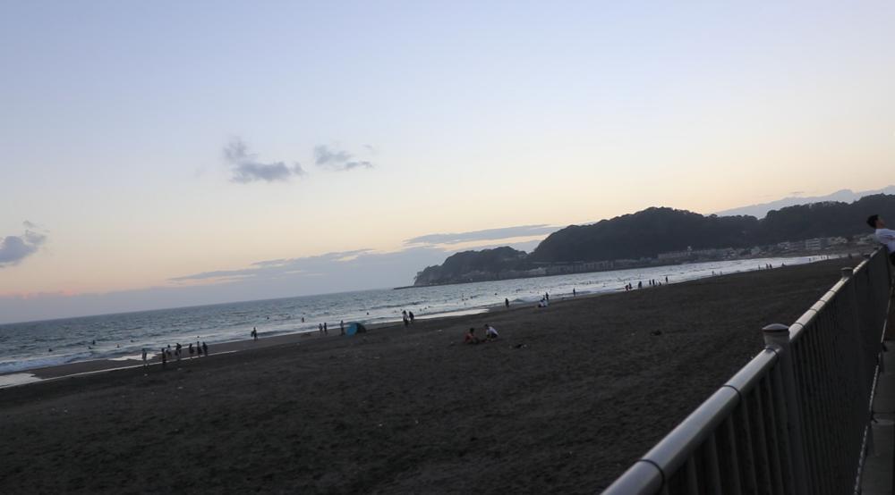 yuigahama kamakura beach