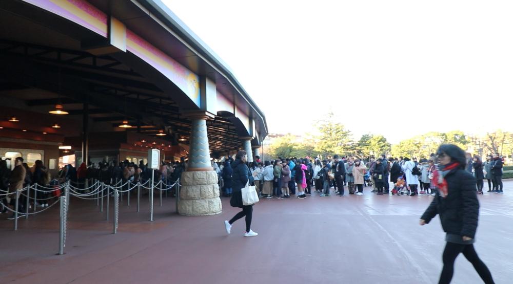 tokyo disney ticket entrance