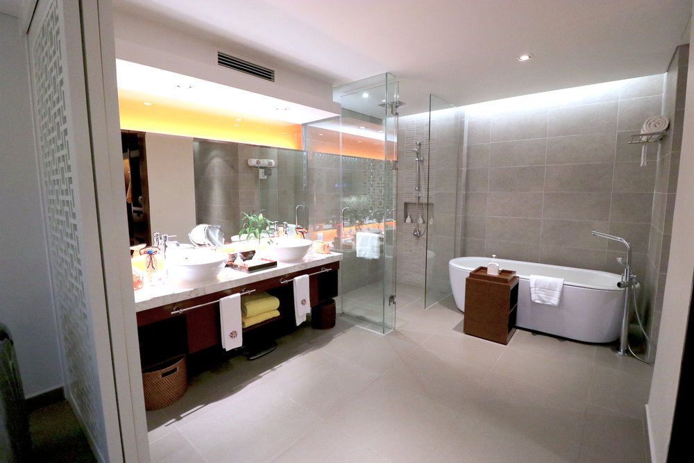 かなり広々したバスルーム