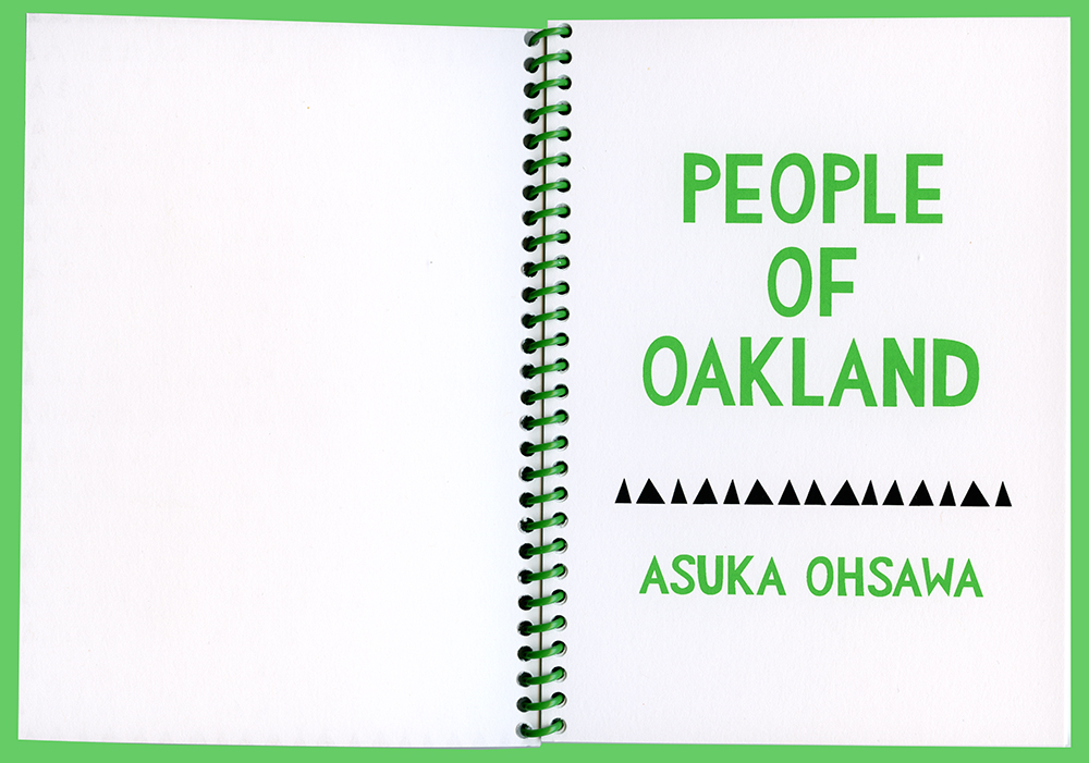 People of Oakland   Screenprint, 5 X 7 in, 2017. Edition of 100. Printed by Bloom Press in Oakland, CA.