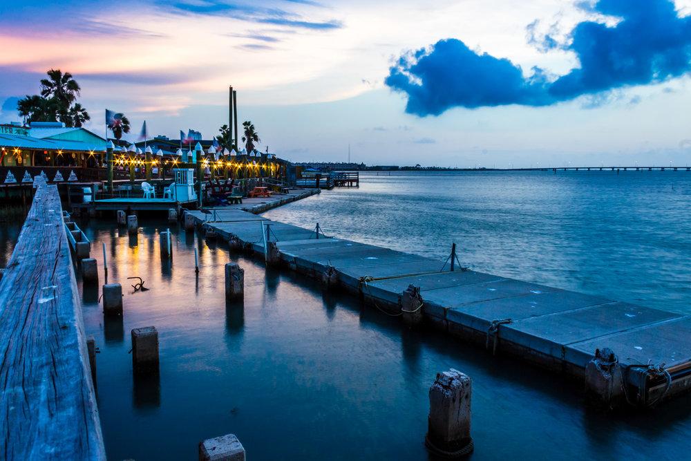 Purple Pier -