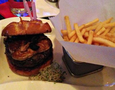 Burger Bar's Rossini Burger