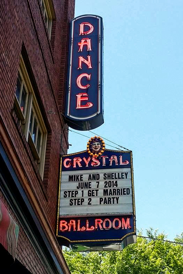 Crystal Ballroom Wedding Marquee