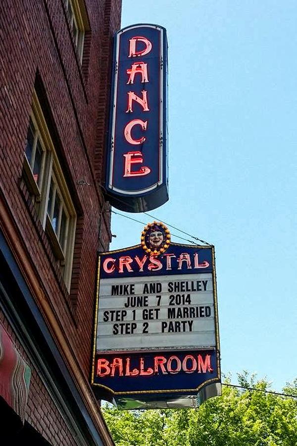 Crystal Ballroom Wedding Marquee