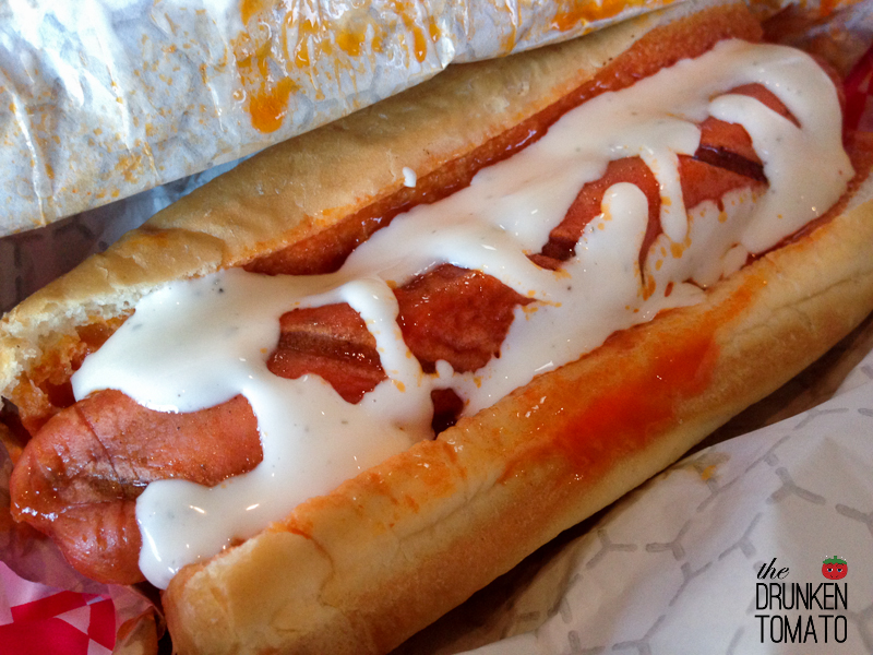 Dogz Bar & Grill Buffalo Style Hot Dog