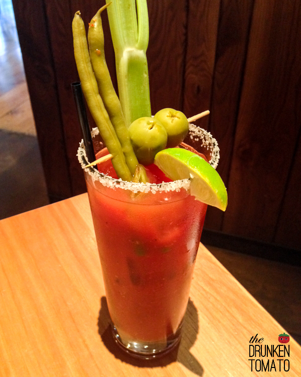 Lazy Dog Cafe  Bloody Mary Times Two  — The Drunken Tomato