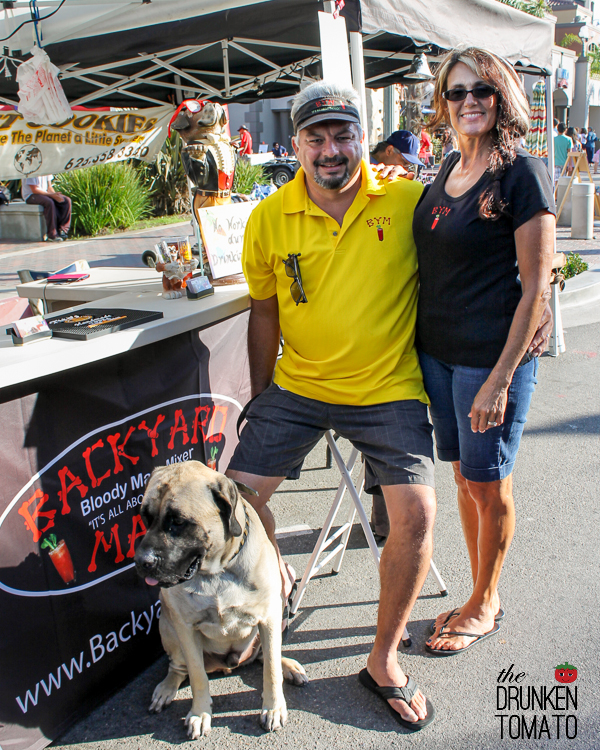 Andy and Marlene Salazar, owners of Backyard Mary