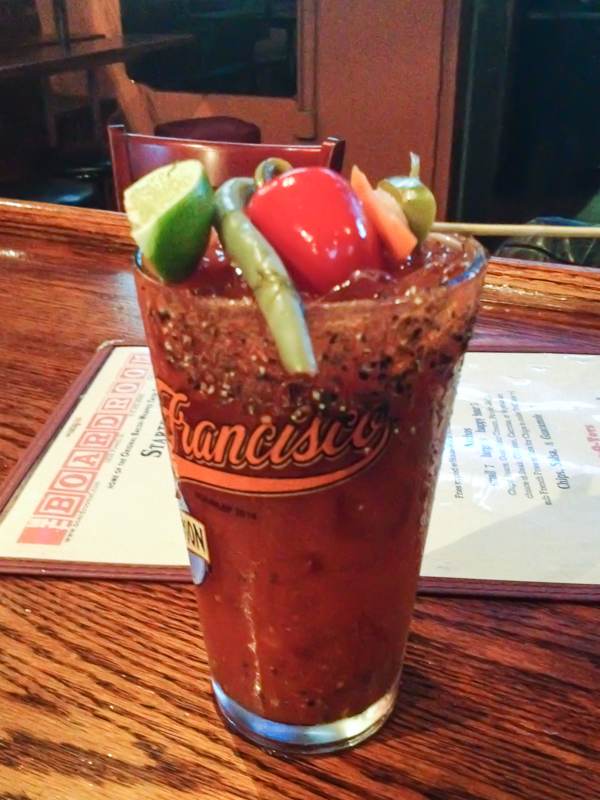 The Boardroom Bloody Mary