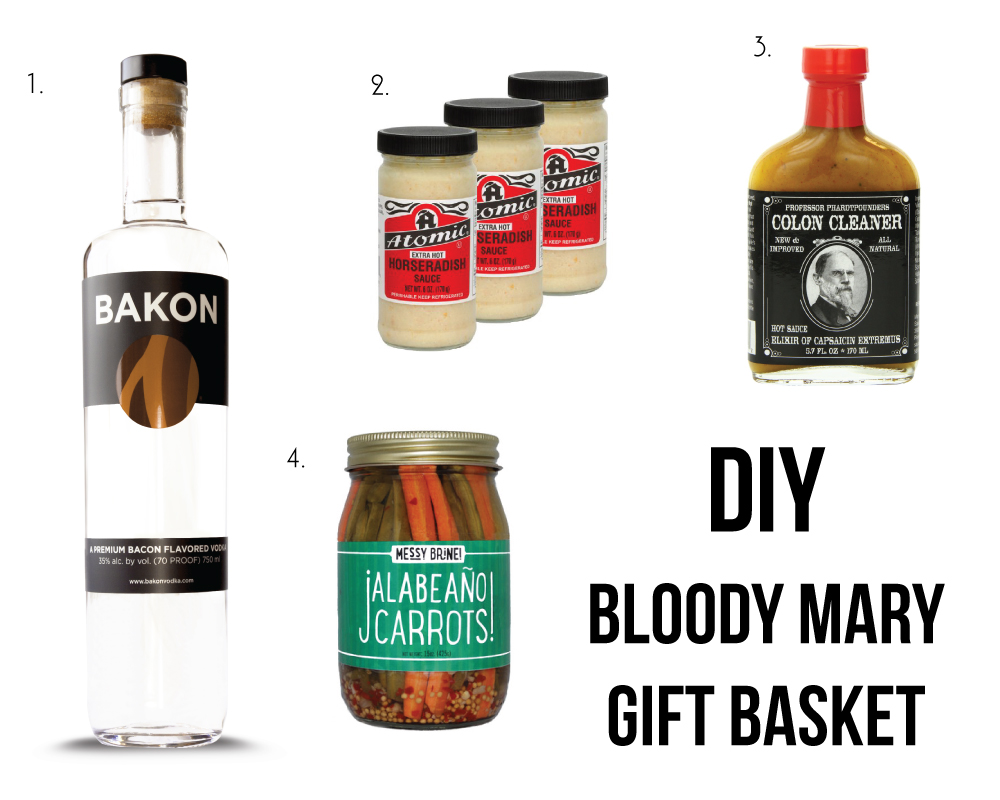 DIY Bloody Mary Gift Basket