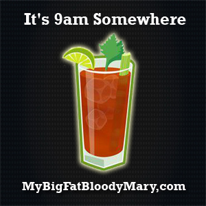 Bloody Mary Stickers
