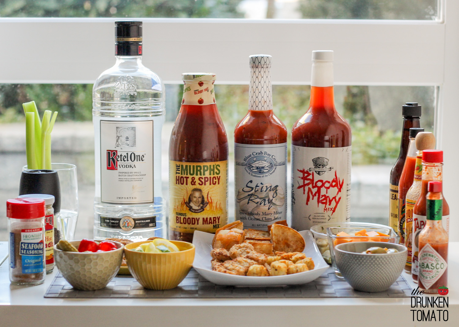 DIY Bloody Mary Bar
