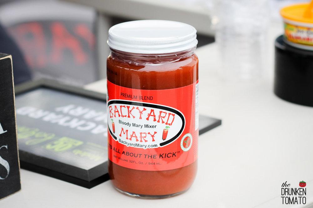 Backyard Mary Bloody Mary Mix