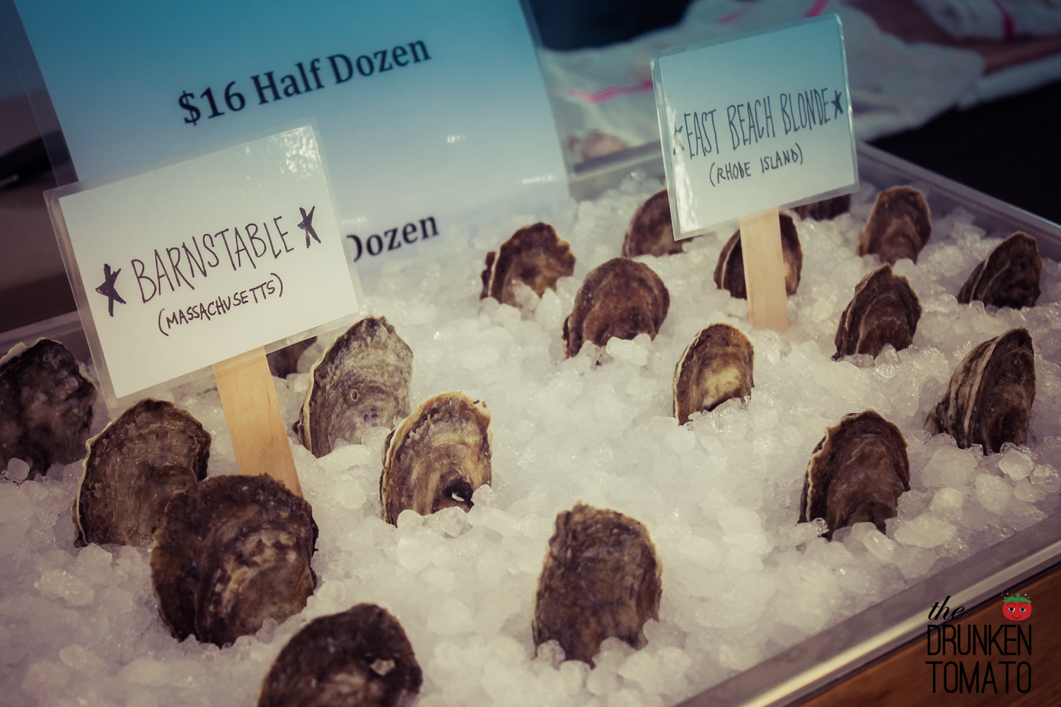 Oysters at The Brooklyn Bloody Mary Fest