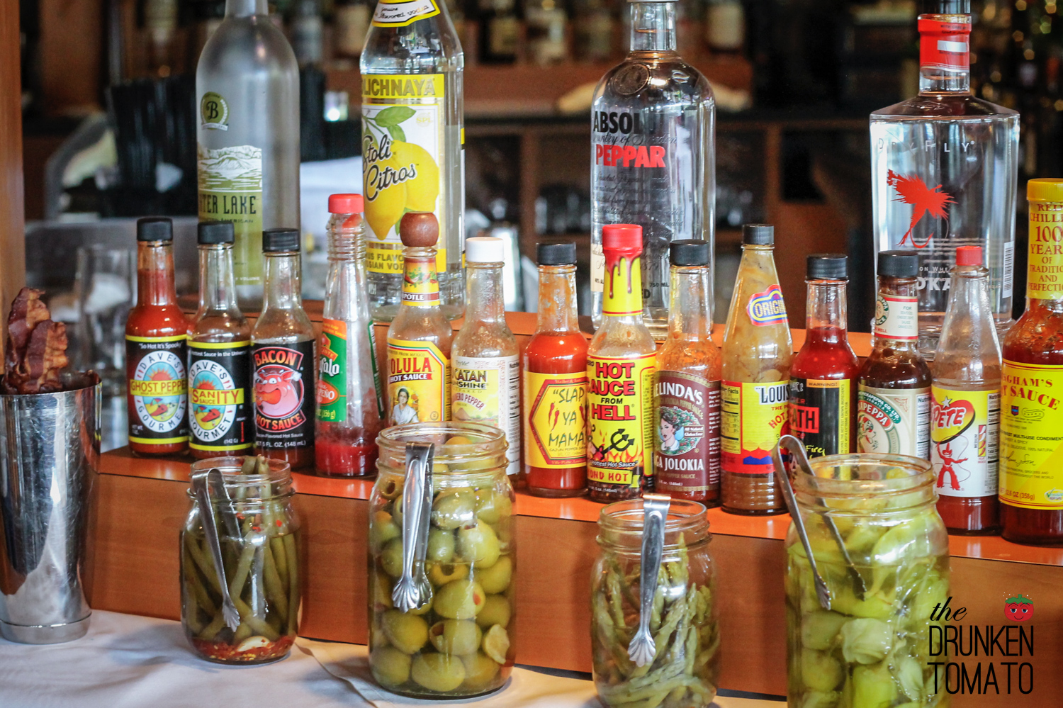 Wildfin American Grill Bloody Mary Bar