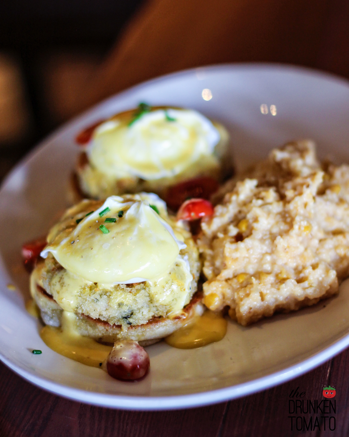 Crab Cake Benedict at Wildfin American Grill