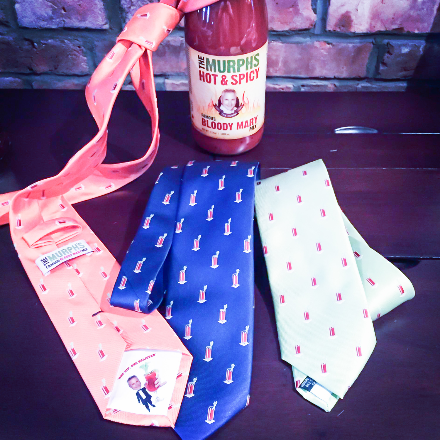 Murph's Famous Bloody Mary Tie