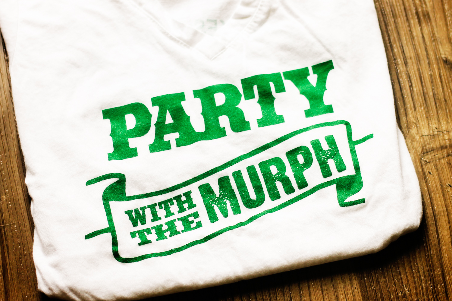 """Party with The Murph"" T-shirt"