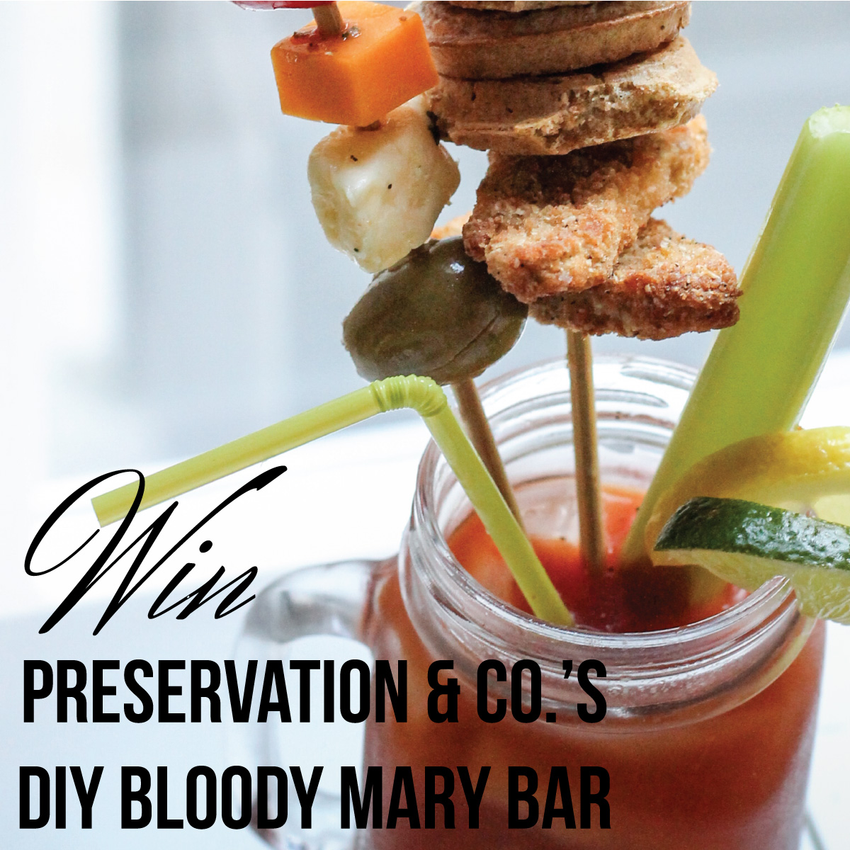 Preservation and Co's DIY Bloody Mary Bar