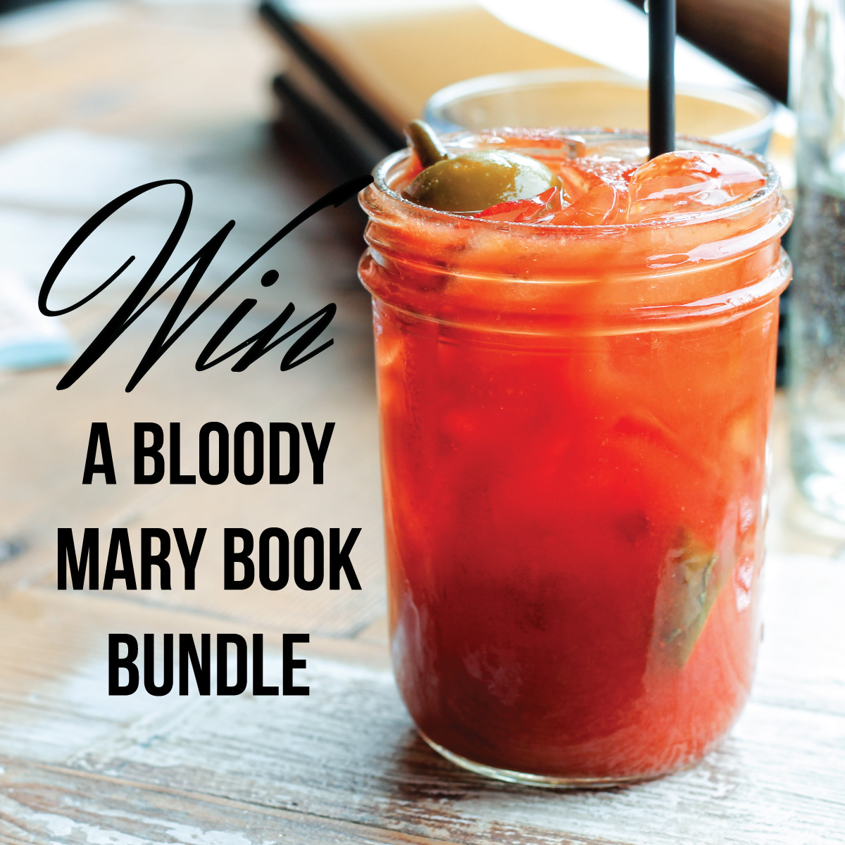 Bloody Mary Book Bundle Giveaway