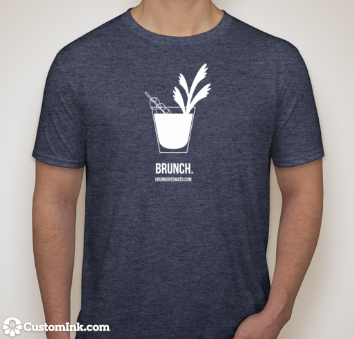 Brunch T-shirt Heather Navy