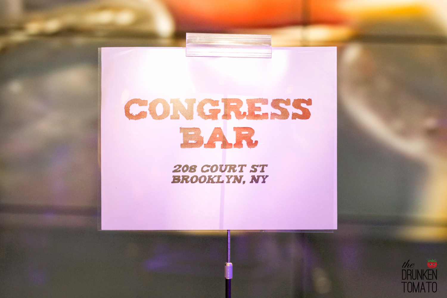 Congress Bar at The Bloody Mary and Oyster Feast