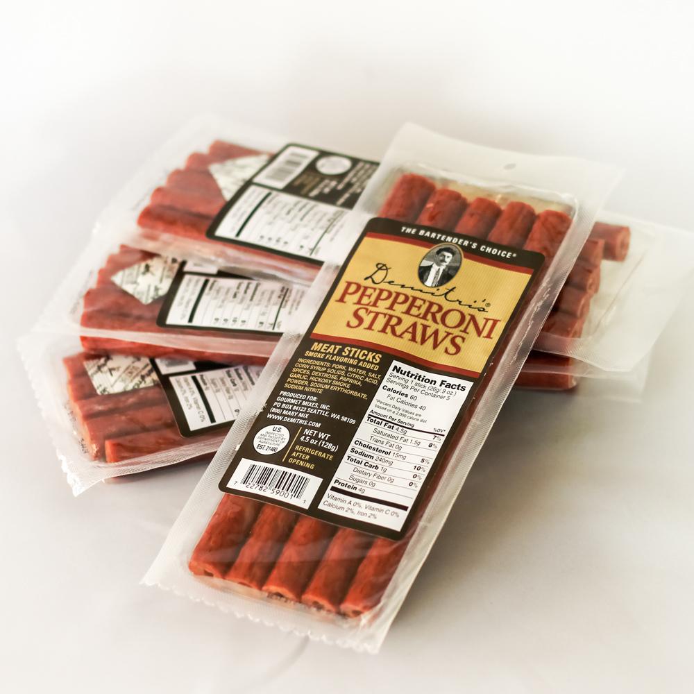 Demitri's Pepperoni Straws