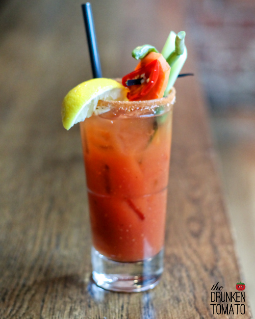 Taylor Shellfish Bloody Mary Seattle